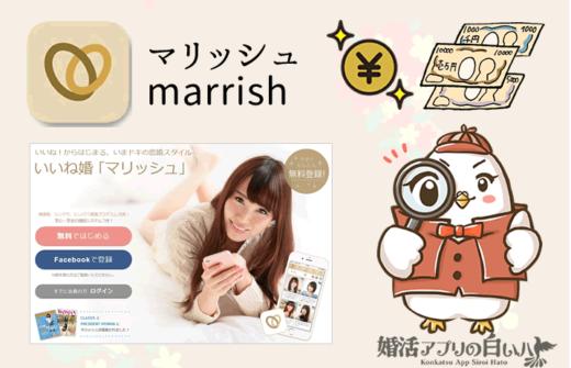 marrish(マリッシュ)の料金徹底調査!男性有料・女性は無料!無料会員のまま婚活する方法も!