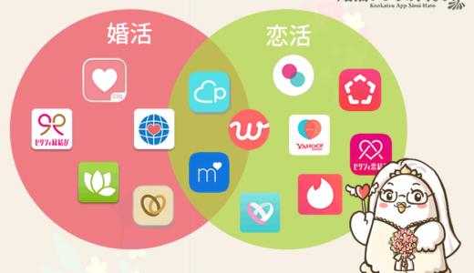 プロが解説する婚活アプリと恋活アプリ(マッチングアプリ)の違い!
