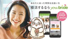 youbrideの広告モデル